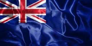 Drapeau du Royaume-Uni de la Grande-Bretagne et du nord variables illustration de vecteur