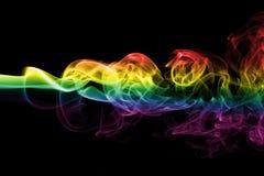 Drapeau gai de fumée illustration stock