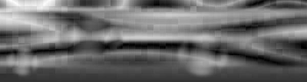 Drapeau gris de décorations Images stock