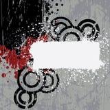 Drapeau grunge Photos libres de droits