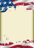Drapeau grunge des Etats-Unis illustration libre de droits