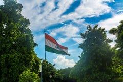 Drapeau indien photographie stock
