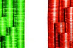 Drapeau Italie Photos libres de droits