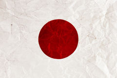 Drapeau japonais images stock
