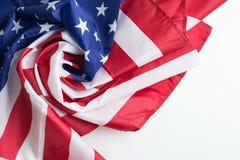 Drapeau, Jour de la Déclaration d'Indépendance ou 4ème des USA de juillet Photographie stock libre de droits