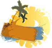 Drapeau-mer Images libres de droits
