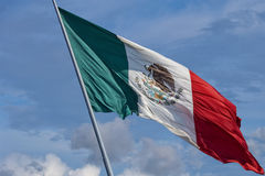 Drapeau mexicain Images stock