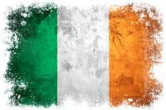 Drapeau national de l'Irlande Photo libre de droits