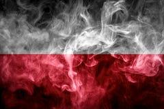 Drapeau national de la Pologne photos stock