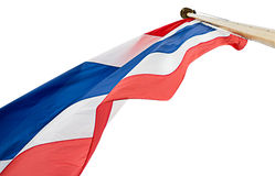 Drapeau national de la Thaïlande Image stock