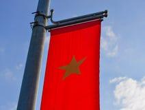 Drapeau national vietnamien Images libres de droits