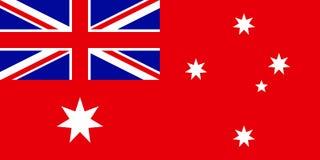 Drapeau naval d'Australie illustration stock