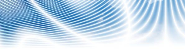 Drapeau nuageux de zones énergiques Image stock