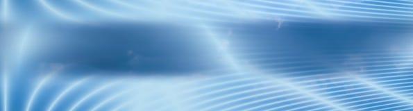 Drapeau nuageux de zones énergiques Photographie stock