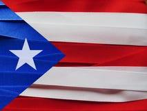 Drapeau ou bannière du Porto Rico photos stock
