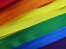Drapeau ou bannière gai de drapeau Photo libre de droits