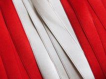 Drapeau ou bannière PÉRUVIEN Image libre de droits