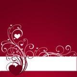 Drapeau rouge Image libre de droits