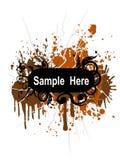 Drapeau sale Image stock
