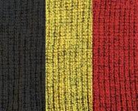 Drapeau texturisé de laine - Photographie stock libre de droits