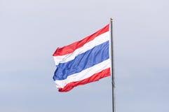 Drapeau thaïlandais Photographie stock libre de droits