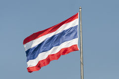 Drapeau thaïlandais Photographie stock