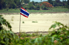 Drapeau thaïlandais Photos libres de droits