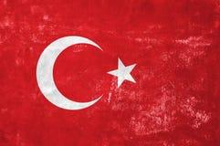 Drapeau turc images stock