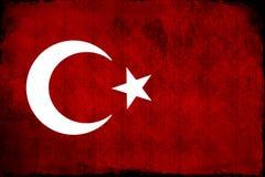 Drapeau turc, Turquie, conception de drapeau Images stock
