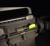 Drapeau vide de chambre dans un AR-15 Images stock