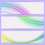 Drapeaux abstraits. Images libres de droits
