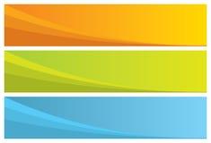 drapeaux abstraits Images stock