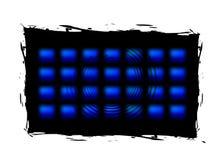 Drapeaux abstraits de vecteur Photos libres de droits