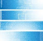 Drapeaux architecturaux. Vecteur. Images libres de droits