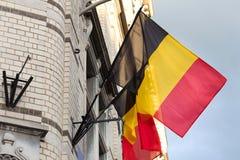 Drapeaux belges Image libre de droits