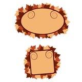 Drapeaux d'automne Photo libre de droits