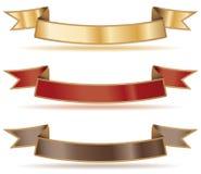 Drapeaux de bande Image stock
