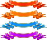 Drapeaux de couleur Photographie stock libre de droits