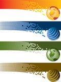 Drapeaux de Digitals Image libre de droits