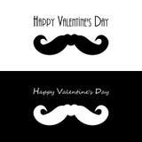 Drapeaux de jour de Valentines illustration libre de droits