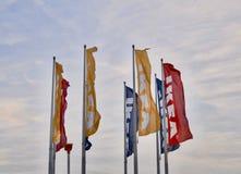 Drapeaux de mobilier de maison d'Ikea Photos libres de droits