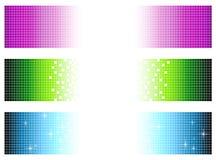 Drapeaux de Pixel Photo libre de droits