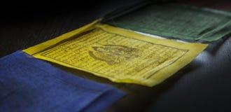 Drapeaux de prière Image libre de droits