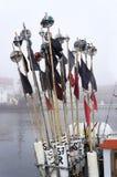Drapeaux de signal Photo libre de droits