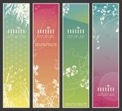 Drapeaux de source de l'Asie illustration stock