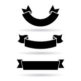 Drapeaux de vecteur réglés Image libre de droits