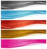 Drapeaux de Web illustration stock
