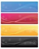 Drapeaux de Web illustration libre de droits