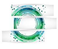 Drapeaux de Web Vecteur Image stock