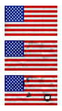 Drapeaux des USA  Photos libres de droits